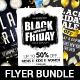 Black Friday Sale Flyer Set - GraphicRiver Item for Sale