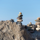 Free Download stone stack closeup, concept of balance and harmony Nulled