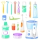 Toothbrush Vector Dental Hygiene - GraphicRiver Item for Sale