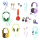 Headphones Vector - GraphicRiver Item for Sale