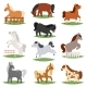 Cartoon Horse Vectors - GraphicRiver Item for Sale