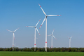 Wind turbines in an agricultural area - PhotoDune Item for Sale