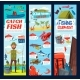 Fishing and Fisher Catch Equipment Tackles Banners - GraphicRiver Item for Sale