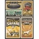 Hunting Open Season African Safari - GraphicRiver Item for Sale