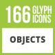 Free Download 166 Objects Glyph Inverted Icons Nulled
