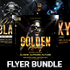 Golden Flyer Bundle - GraphicRiver Item for Sale