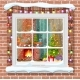 Christmas Window in Brick Wall - GraphicRiver Item for Sale
