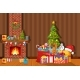 Christmas Interior of Room - GraphicRiver Item for Sale