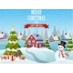 Snowy Village Landscape - GraphicRiver Item for Sale