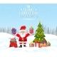 Christmas Winter Landscape - GraphicRiver Item for Sale