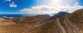 View of road near beach Palionnisou, Kalymnos island, Greece - PhotoDune Item for Sale