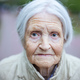 Portrait of senior woman looking at camera - PhotoDune Item for Sale