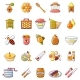 Propolis Honey Jelly Icons Set - GraphicRiver Item for Sale