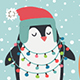 Free Download Christmas Card With Animals Nulled