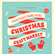 Christmas Craft Market Flyer - GraphicRiver Item for Sale