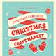 Christmas Craft Market Flyer - GraphicRiver Item for Sale