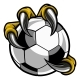 Free Download Eagle Bird Monster Claw Talons Holding Soccer Ball Nulled