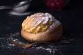 buns filled with cream, sprinkled with sugar - PhotoDune Item for Sale