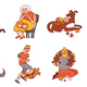 People And Pets Set - GraphicRiver Item for Sale