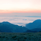 Waves of clouds over the mountains in the morning - PhotoDune Item for Sale