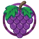 Free Download Fresh Grapes Logo Nulled