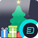 Free Download Flat Christmas Greeting Nulled