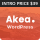 Akea - Gutenberg Minimal Blog WordPress - ThemeForest Item for Sale
