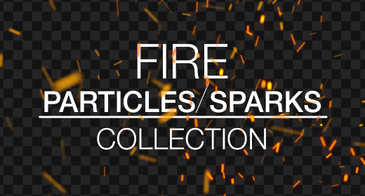 Fire Sparks and Particles