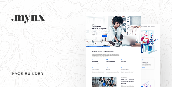 Mynx Page Builder
