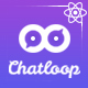 Free Download Chatloop - React App Landing Page Nulled