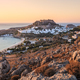 Lindos Castle and village, Greece - PhotoDune Item for Sale