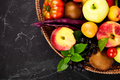 Healthy colorful food selection: fruit, vegetable, superfood - PhotoDune Item for Sale