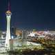Aerial View Downtown City Skyline Urban Core Las Vegas Nevada - PhotoDune Item for Sale