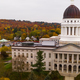 Capitol Building State House Augusta Maine Autumn Season Aerial - PhotoDune Item for Sale