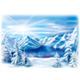 Winter Landscape of a Mountain Lake - GraphicRiver Item for Sale