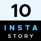 10 Instagram Stories - GraphicRiver Item for Sale