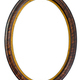 Oval wooden decorative picture frame - PhotoDune Item for Sale