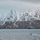 Free Download Fishing ship in fjord in Norway Nulled