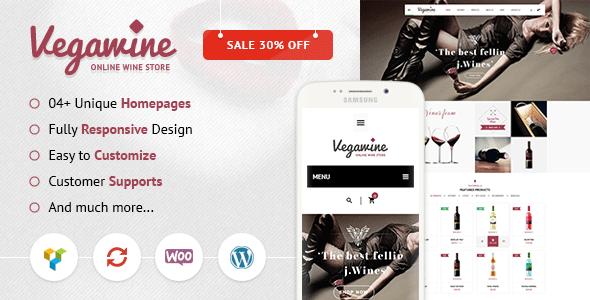 VG VegaWine - Wine, Winery and Vineyard WooCommerce Theme - WooCommerce eCommerce