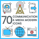 Communications Icons - Modern - GraphicRiver Item for Sale