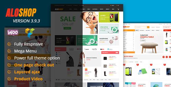 Alo Shop - Mega Market RTL Responsive WooCommerce WordPress Theme - WooCommerce eCommerce