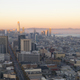 Sunset Aerial View San Francisco Downtown Urban Building Skyline - PhotoDune Item for Sale