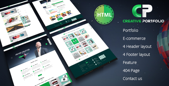 Creative Portfolio HTML Template