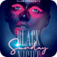 Black Night Sunday Flyer - GraphicRiver Item for Sale