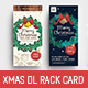 Christmas DL Rack Card - GraphicRiver Item for Sale