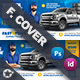 Auto Tires Cover Templates - GraphicRiver Item for Sale