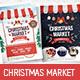 Christmas Market Flyer / Poster - GraphicRiver Item for Sale