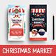 Christmas Market DL Rack Card - GraphicRiver Item for Sale