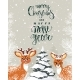 Deer in Winter - GraphicRiver Item for Sale