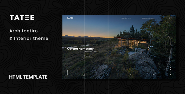 Tatee - Architecture and Building Business HTML5 Template